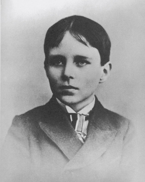 Robinson Jeffers at age 12